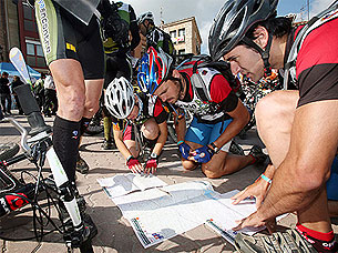 Belorado acoge el Campeonato de España de raids de orientación