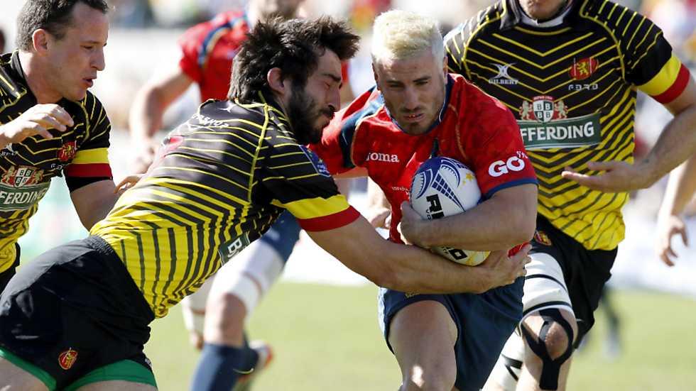 Rugby - Campeonato de Europa Masculino: España - Bélgica