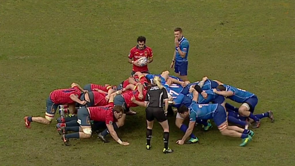 Rugby - Campeonato de Europa Masculino: España - Rusia desde Madrid