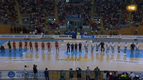 Hockey patines - Campeonato de Europa Masculino Final: España - Portugal