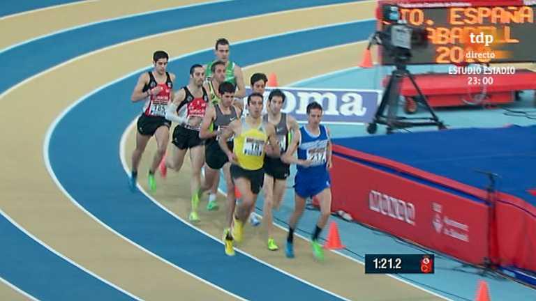 Atletismo - Campeonato de España: Pista cubierta, 2ª jornada (2)