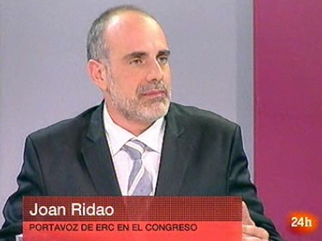 Entrevistes electorals Canal 24 horas - Joan Ridao