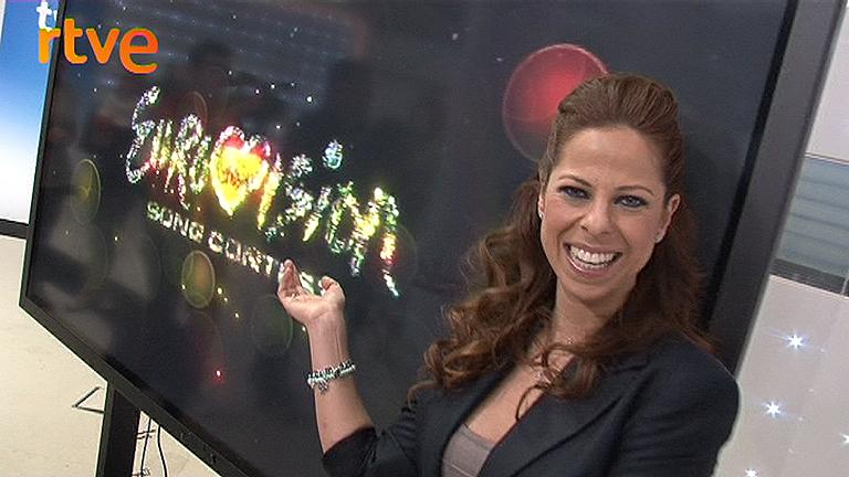 Pastora Soler, feliz con la canción elegida para Eurovisión