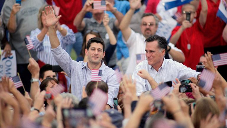 El candidato republicano a la vicepresidencia, Paul Ryan, hará públicas parte de sus declaraciones de renta
