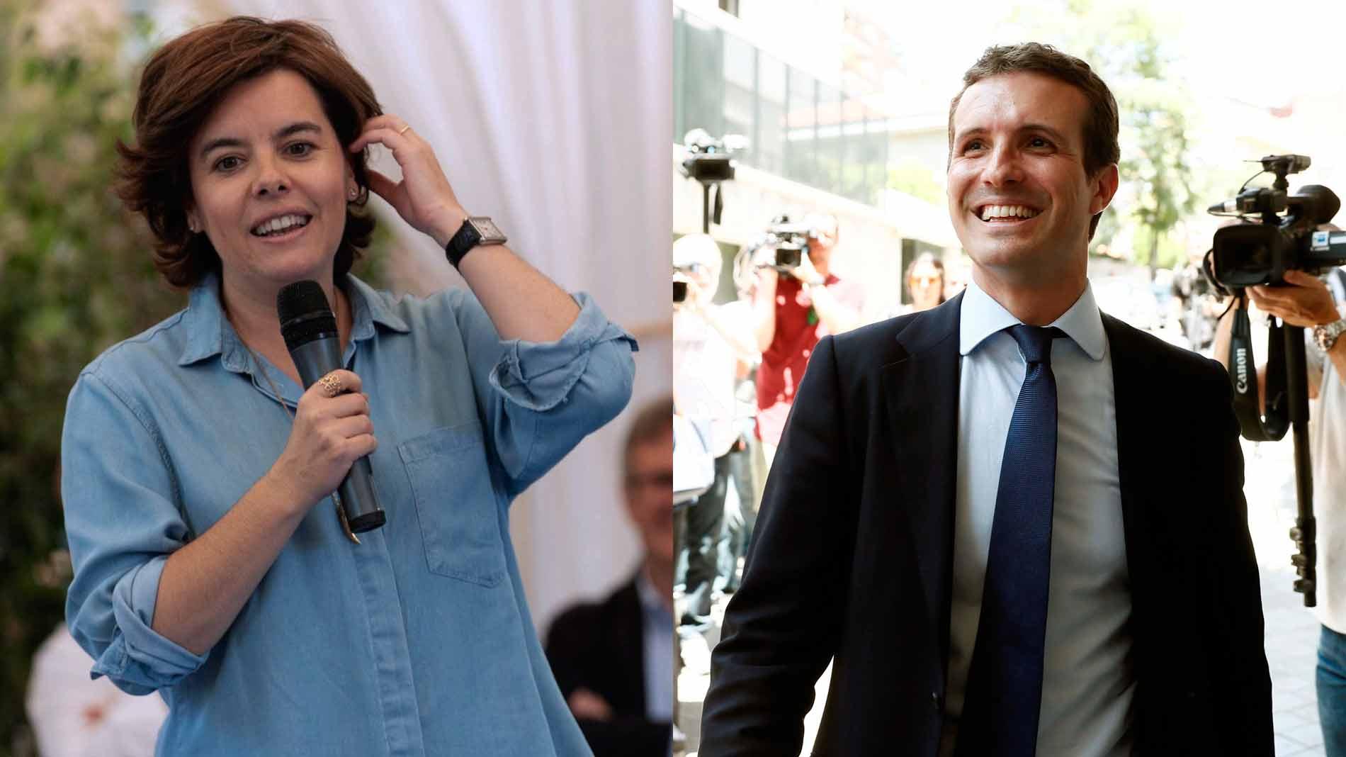 Los candidatos a liderar el PP cierran sus campañas