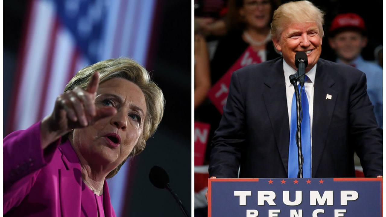 Los candidatos a la presidencia de EE.UU.