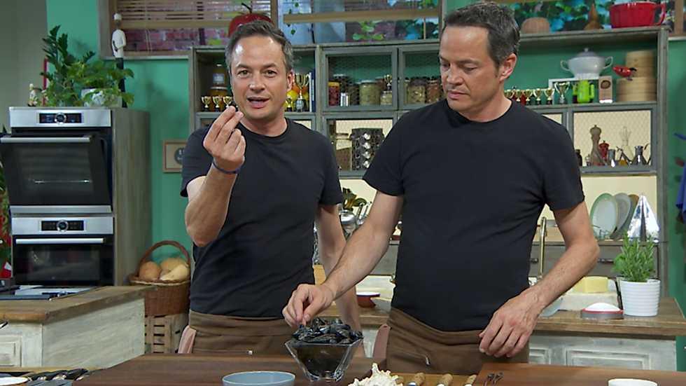 Torres en la cocina - Canelones de mar y gallo frito