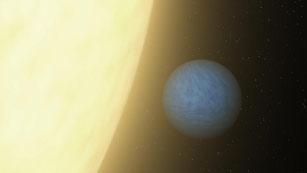 Captan luz procedente de una supertierra por primera vez