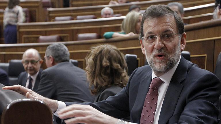 """Rajoy a Rubalcaba: """"Ve bien la reforma laboral sin acuerdo si la hacen ustedes y mal si la hago yo"""""""