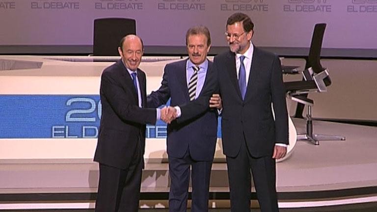 Cara a cara Rubalcaba-Rajoy