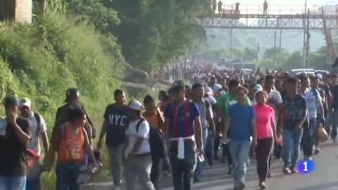 Caravana de inmigrantes hondureños a EE.UU. entre el peligro y la politización
