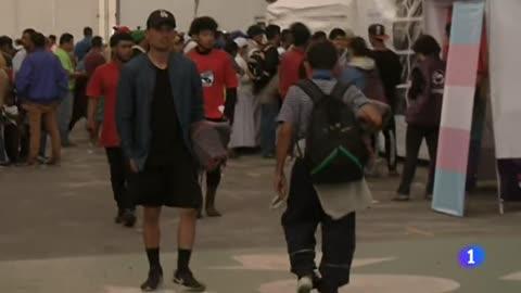 La caravana de migrantes, en Ciudad de México