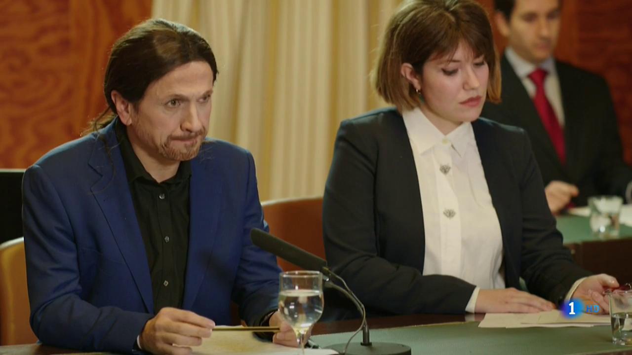 El careo entre Pablo Iglesias y José María Aznar