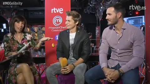 Carlos Baute y Saúl Craviotto desvelan que han creado un chat de MasterChef Celebrity