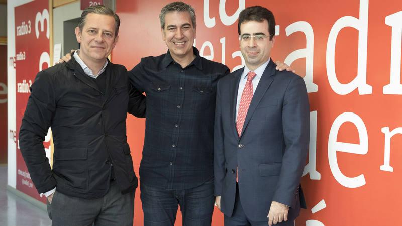 Carlos Castañón y Javier Quintana visitan 'Memoria de delfín'