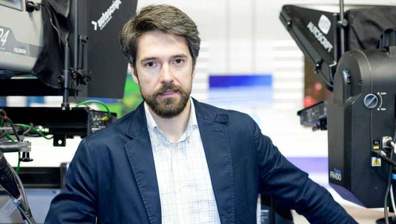Carlos Franganillo, corresponsal de TVE