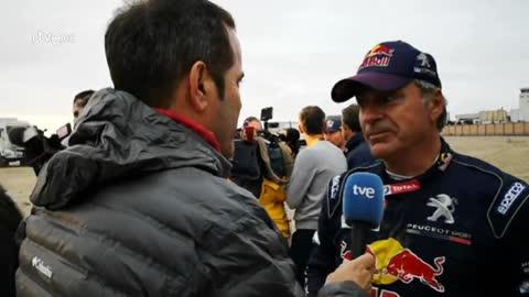 "Carlos Sainz: ""Está siendo un Dakar tremendamente duro"""