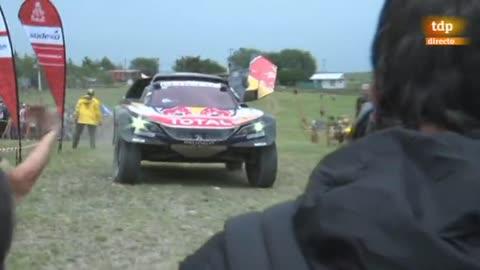 Carlos Sainz se alza con la victoria en el Rally Dakar en la categoría de coches