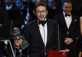 Carlos Santos, Goya al mejor actor revelación de 2017 por 'El hombre de las mil caras'
