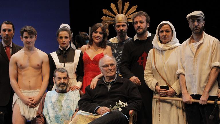 Carlos Saura debuta sobre las tablas con 'El gran teatro del mundo'