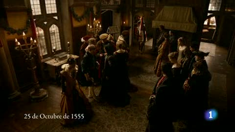 Carlos, Rey Emperador - Carlos V abdica