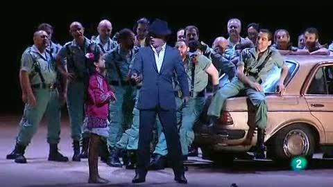 Programa de mano - La ópera 'Carmen' se va a la playa de La Barceloneta