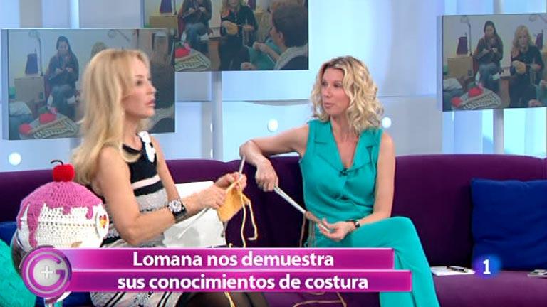 Más Gente - Carmen Lomana se apunta a la moda de tejer con lana