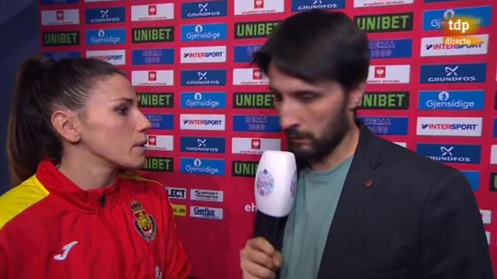 """Carmen Martín: """"Estoy convencida de que estábamos preparadas"""""""