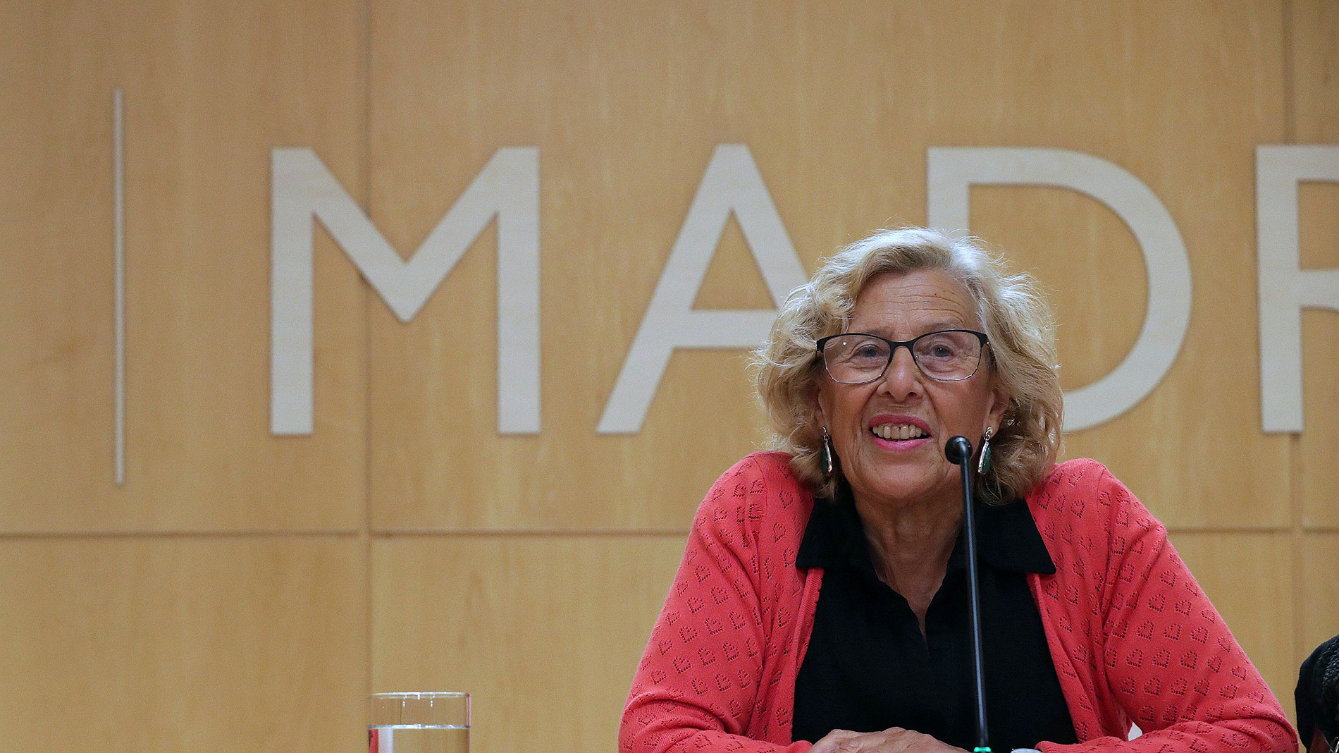 Carmena se presentará a la reelección en Madrid