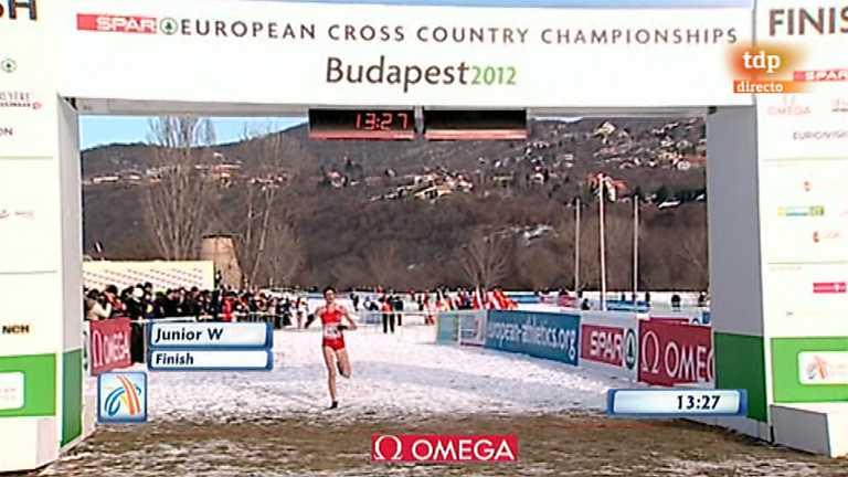 Atletismo - Cross Campeonato de Europa - Carrera Junior femenina