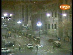 Ver vídeo  'La Carrera de San Jerónimo la noche del 23-F'