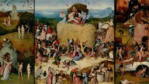 Mirar un cuadro - El carro de heno (El Bosco)