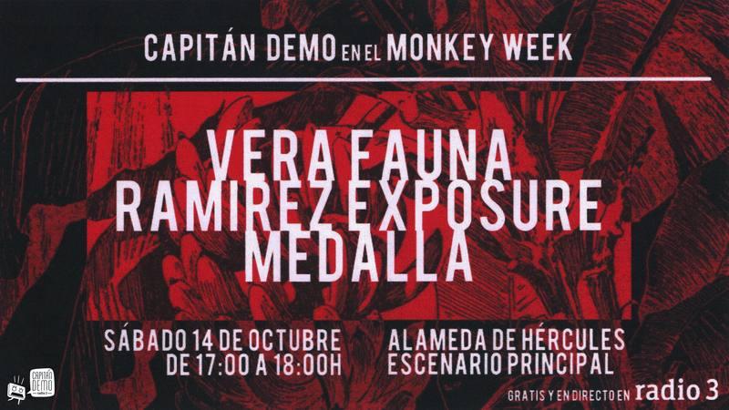 capitan demo radio3 monkey week