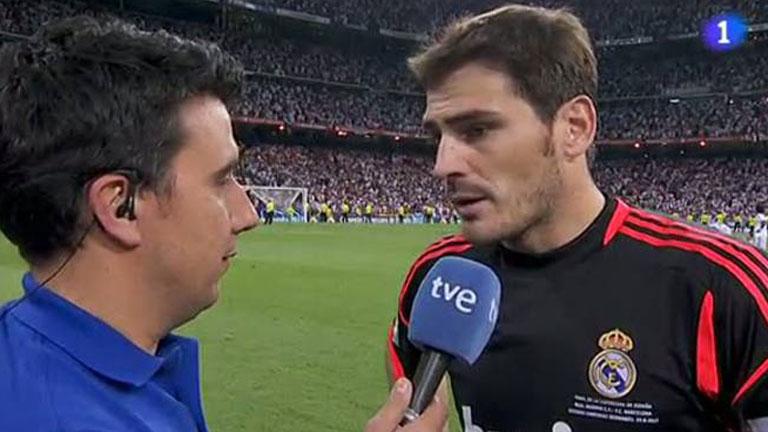 """Casillas: """"Merecimos la victoria"""""""