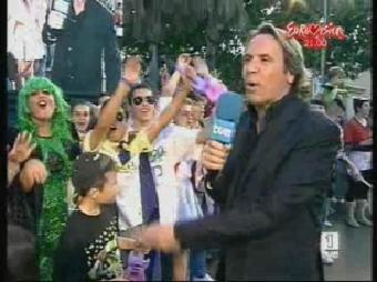 Eurovisión 2008 - Casteldefells con Chikilicuatre