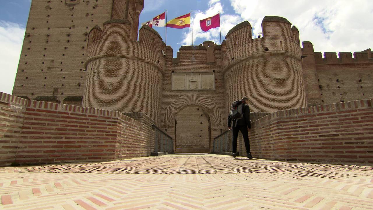 En el Castillo de La Mota en Medina del Campo