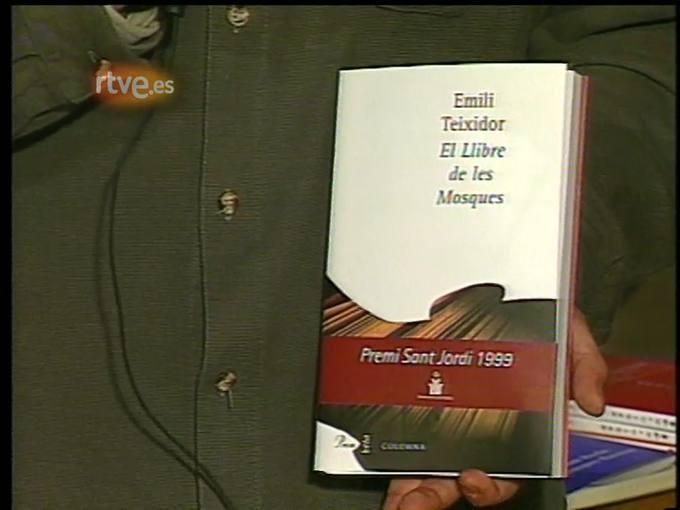 Arxiu TVE Catalunya - Catalunya avui: setmana del llibre, 2000