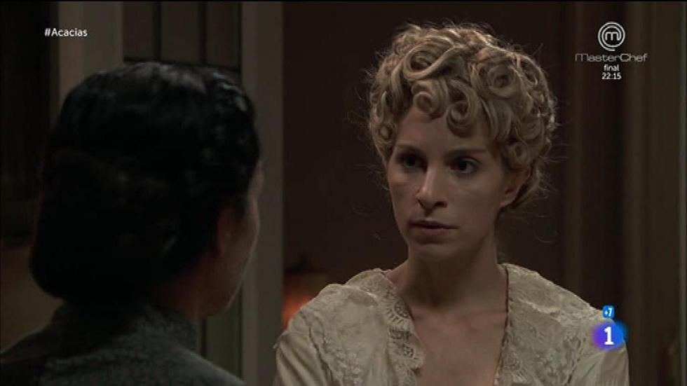 Acacias 38 - Cayetana se entera de que Teresa está relacionada con Mauro