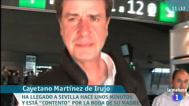 La mañana de La 1 - Cayetano Martínez de Irujo, contento por la boda de su madre