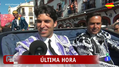 Corazón - Cayetano Rivera evoluciona favorablemente de la cornada sufrida