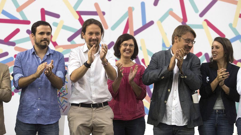 Celebración de la Asamblea de parlamentarios y alcaldes propuesta por Unidos-Podemos en Zaragoza