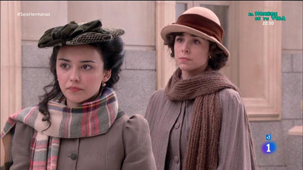 """Seis Hermanas - Celia: """"Elisa, esta es la última vez que te tapo una mentira"""""""