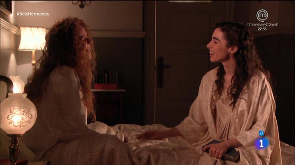 Seis Hermanas - Celia y Francisca hablan de sus problemas amorosos