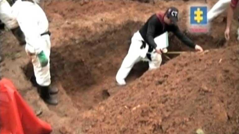 Encontrado el que podría ser el mayor cementerio de las FARC