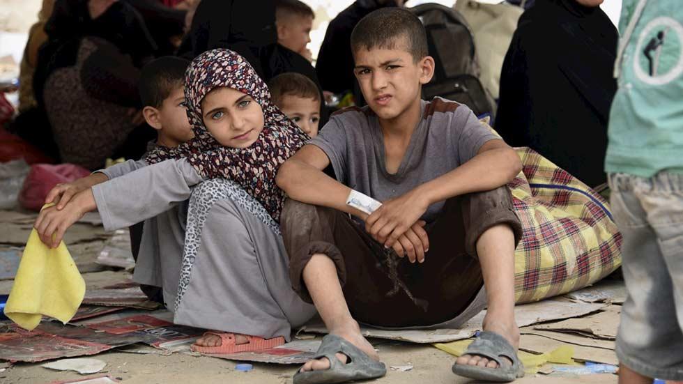 Cerca de 30.000 personas huyen de Faluya por los enfrentamientos entre el ejército y el Estado Islámico