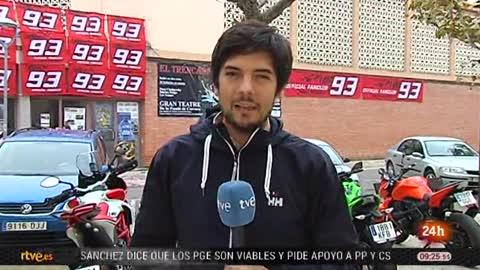 Cervera vibra con el nuevo triunfo de Márquez