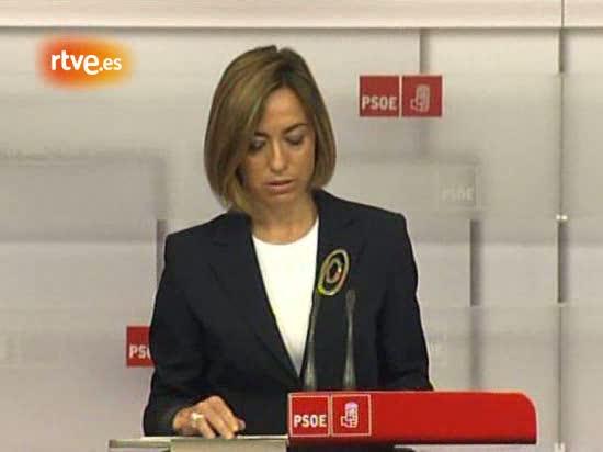 Chacón renuncia a las primarias -intervención íntegra-
