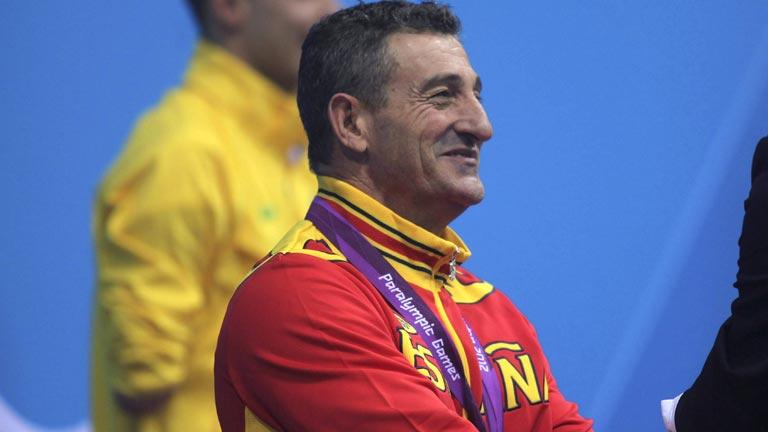 'Chano' Rodríguez, plata en los 200m libres