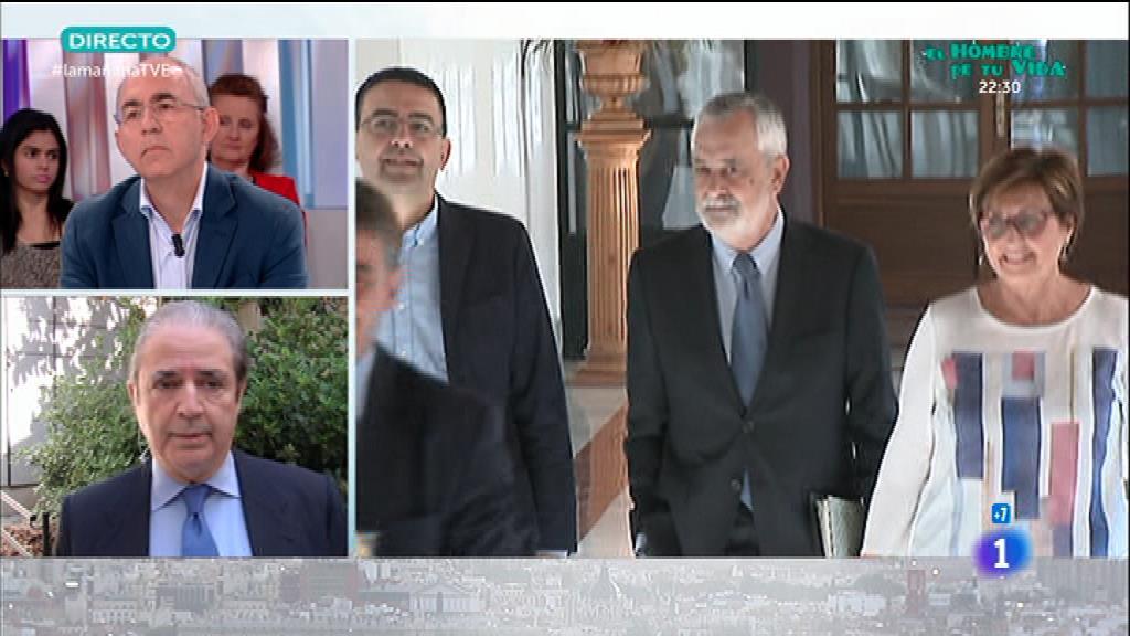 Chaves y Griñán, procesados por los ERE