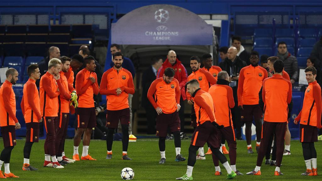 El Chelsea toma el pulso al Barça en Stamford Bridge